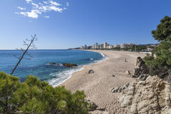 Platja Aro, Catalonië, Spanje stock foto's