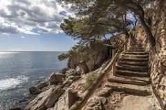 Platja Aro,Catalonia,Spain Royalty Free Stock Images