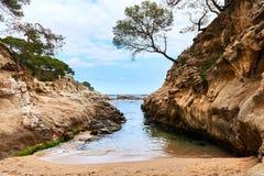 Platja D'Aro beach Stock Image