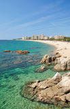 Platja d`Aro,Costa Brava Royalty Free Stock Photography