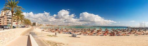 Platja de Palma Beach Fotografering för Bildbyråer
