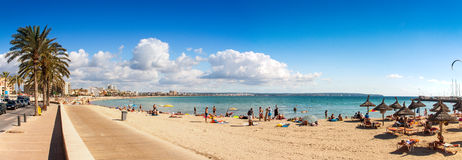 Platja de Palma Beach Royalty Free Stock Photo