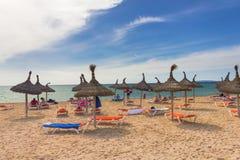 Platja de Palma de Mallorca, Baleares, Spain Royalty Free Stock Photo