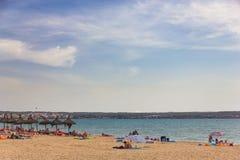 Platja de Palma de Mallorca, Baleares, Spain Royalty Free Stock Image