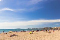 Platja de Palma de Mallorca, Baleares, Spain Stock Photography