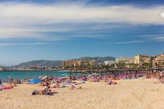 Platja de Palma de Mallorca, Baleares, Spain Stock Image