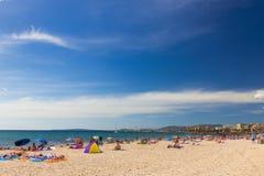 Platja de Palma de Mallorca, Baleares, Spain Stock Photo