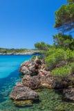 Platja des bot. Nature view, Menorca, Spain Stock Images