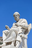 Plato. Statue of Plato,the Academy of Athens,Greece Royalty Free Stock Photography