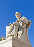 Plato, Academy of Athens, Greece. The statue of Plato, Academy of Athens, Greece Royalty Free Stock Photography