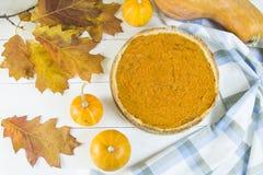 Plato americano tradicional para el día de la acción de gracias en el tiempo del otoño Fotos de archivo