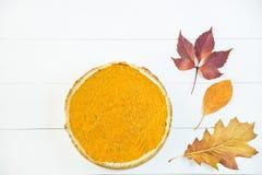 Plato americano tradicional para el día de la acción de gracias en el tiempo del otoño Fotografía de archivo