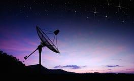 Plato basado en los satélites Foto de archivo