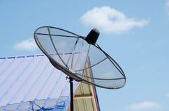 Plato basado en los satélites Imágenes de archivo libres de regalías