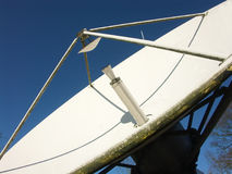 Plato basado en los satélites de la difusión Fotografía de archivo libre de regalías