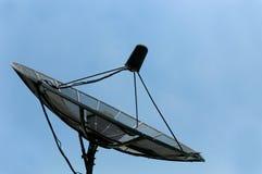 Plato basado en los satélites viejo Fotografía de archivo libre de regalías