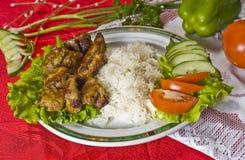 Plato chino del alimento Foto de archivo libre de regalías