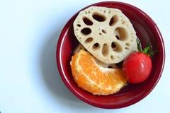 Plato de frutas Fotos de archivo