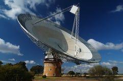 Plato de la antena de radio Imagen de archivo libre de regalías