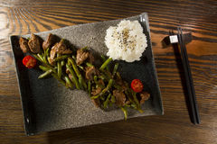 Plato de la cocina japonesa Fotos de archivo