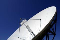 Plato de la transmisión vía satélite Imagen de archivo
