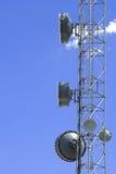 Plato de la transmisión vía satélite Imagenes de archivo