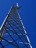 Plato de la transmisión vía satélite Imagen de archivo libre de regalías