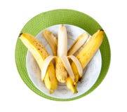 Plato de los plátanos imagen de archivo libre de regalías