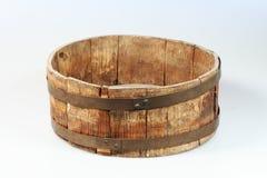 Plato de madera viejo Fotografía de archivo