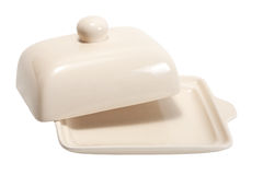 Plato de mantequilla Imagen de archivo