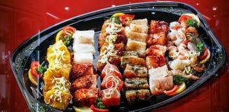 Plato de pescados Imagen de archivo