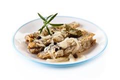 Plato de pescados - arenque frito en vinagre fotografía de archivo libre de regalías