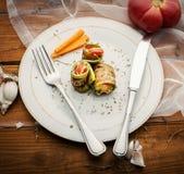 Plato de verduras imágenes de archivo libres de regalías