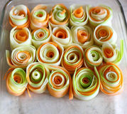 Plato de verduras clasificadas Imagen de archivo