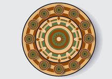 Plato decorativo Imagenes de archivo