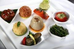 Plato del aperitivo fresco y delicioso Imagen de archivo libre de regalías