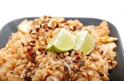 Plato del arroz Foto de archivo libre de regalías