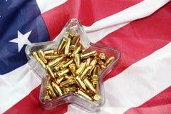 Plato del caramelo del NRA Imagen de archivo