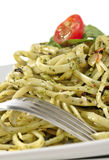 Plato del espagueti imagenes de archivo