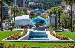 Plato del espejo del casino de Mónaco imagen de archivo