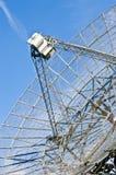 Plato del telescopio de radio Foto de archivo