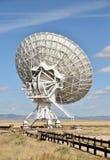 Plato gigante del radiotelescope Imagen de archivo libre de regalías