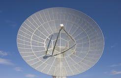 Plato grande del telescopio de radio Fotografía de archivo libre de regalías