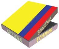Plato nacional ecuatoriano Seviche stock de ilustración
