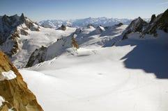 Plato nahe Mont Blanc Lizenzfreie Stockfotografie