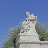 Plato the philosopher statue. Athens Greece Stock Images