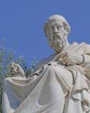 Plato the philosopher statue. Athens Greece Stock Photo