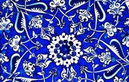 Plato turco esmaltado Fotos de archivo