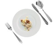 Plato vegetariano - mijo, alforfón, perla-cebada Fotos de archivo libres de regalías