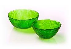 Plato verde Imagen de archivo